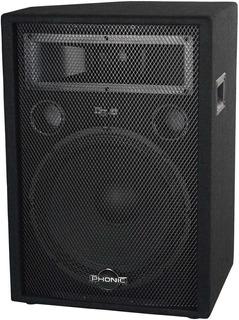 Phonic Sem712 Bafle Monitor Profesional Piso De 2-vias 12