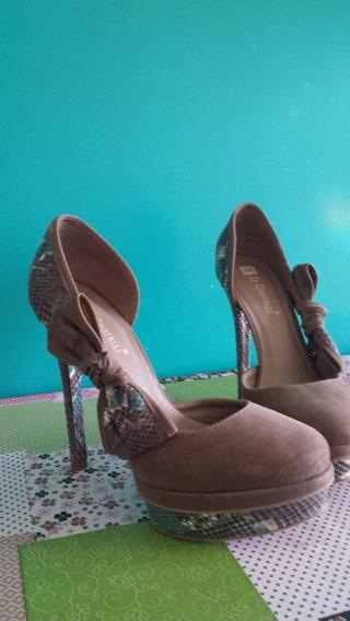 Sapato Meia Pata Di Cristalli N 37