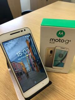 Motorola Moto G4 Play Dourado 16gb Atualizado Android Pie 9