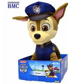 Chase De Pelúcia Tam. G Original Patrulha Canina Paw Patrol