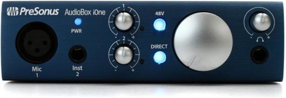 Interface De Audio Presonus Audiobox I One Usb