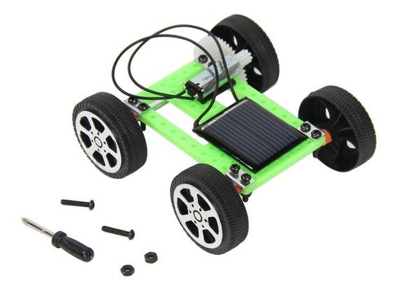 Kit De Montagem Educativo- Mini Carro Movido A Energia Solar