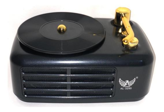 Caixinha Caixa Som Portátil Antiga Retro Bluetooth Usb Sd Tf