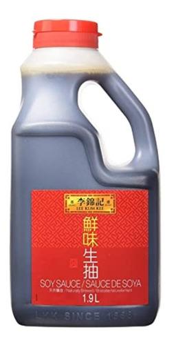 Imagen 1 de 5 de Salsa De Soja Lee Kum Kee X 1.9l - Importada Premium