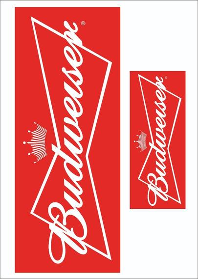 Kit Adesivo Decorativo Budweiser Barril Tambor Tampa Brinde