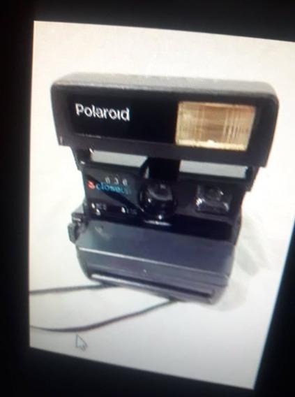 Maquina Fotografica Polaroid Década 90.