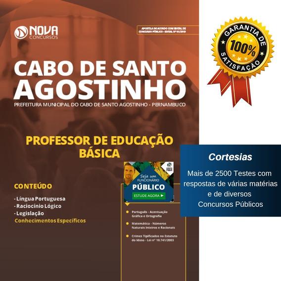 Apostila Professor Educação Básica Cabo De Santo Agostinho