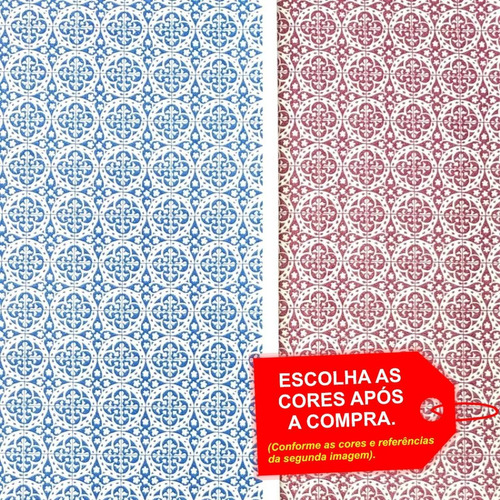 Folha De Eva Estampado Azulejo Português 40x60cm -5 Unidades