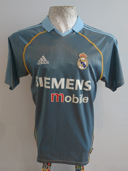 Camiseta Real Madrid adidas #23 Beckham 2004 Alternativa