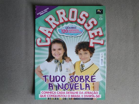 Revista Carrossel - Com 120 Adesivos