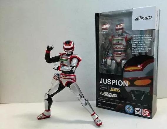 Figura De Ação Jaspion Shfiguarts Bandai Novo Lacrado 14cm