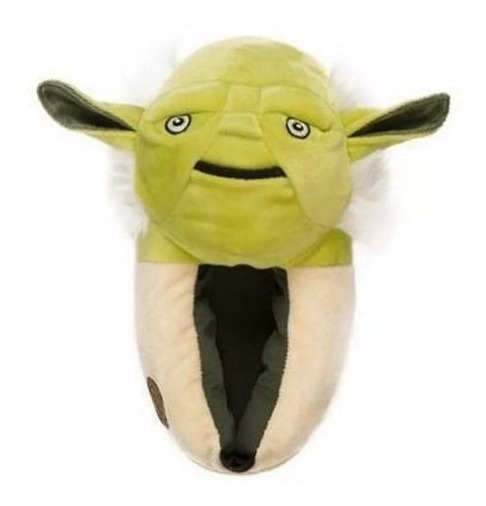 Pantufa 3d Mestre Yoda Star Wars - Ricsen - Original Disney