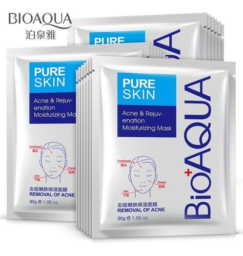 Mascarilla Eliminar Acne Anti Acne Marca Bioaqua Original