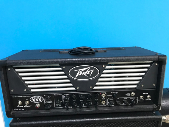 Amplificado Peavey Triple Xxx 2