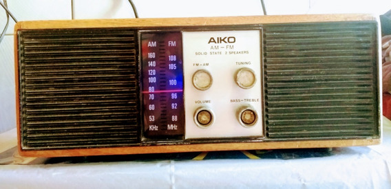 Radio Aiko Rc-603 Am Fm Original
