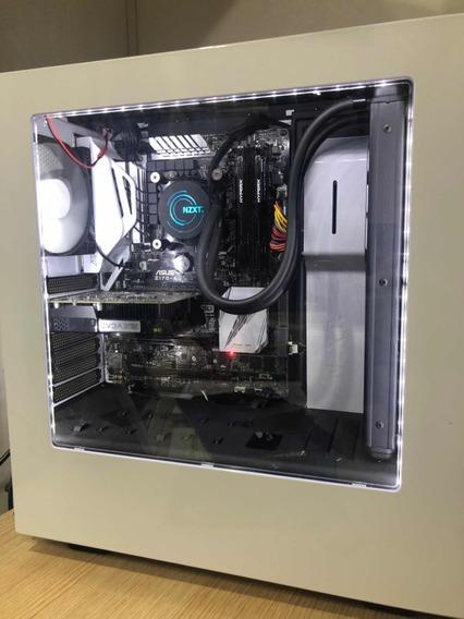 Pc Gamer I5-6600k/gtx1050ti/8gb Ram/water Cooler(negociável)