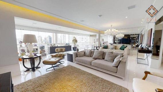 Apartamento Com 3 Dormitórios À Venda, 201 M² Por R$ 2.375.000 - Sumaré - São Paulo/sp - Ap46678