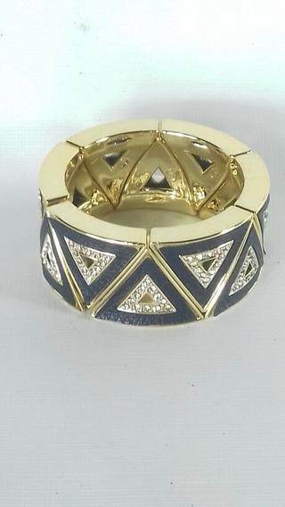 Pulseira Dourada Com Pedras