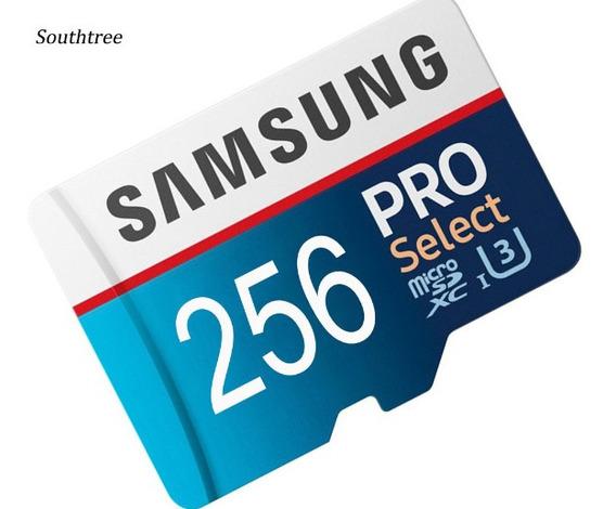 Cartão De Memória Samsung Pro Select 256 Gb Alta Velocidade