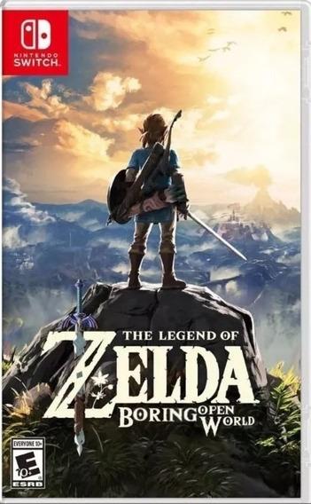 The Legend Of Zelda Breath Of The Wild Switch Lacrado