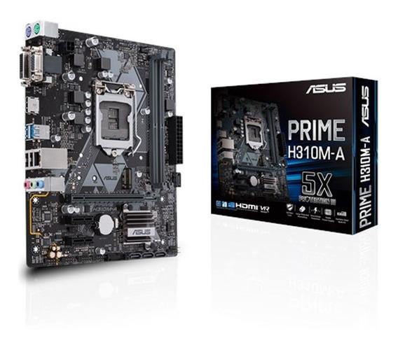 Placa Mae Asus 1151 Prime H310m-a 8th Gen Intel I7 I5 I3