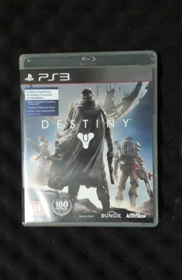 Destiny (jogo Para Ps3) - Mídia Física