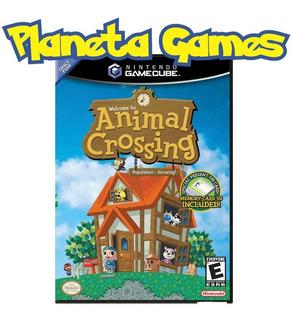 Animal Crossing Nintendo Gamecube Fisico Caja Cerrada