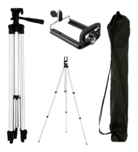Tripé Universal Telescópico Para Câmera E Celular 1,50 M