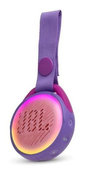 Caixa De Som Infantil Jbl Jr Pop - Purple Original C/ N.f
