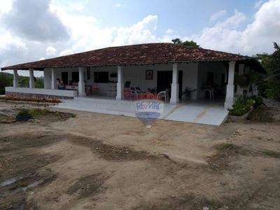 Fazenda Com 4 Dormitórios À Venda, 800000 M² - Zona Rural - Gravatá/pe - Fa0001