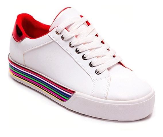 Sneakers Dama Ozono 60004703 Con Suela En Colores