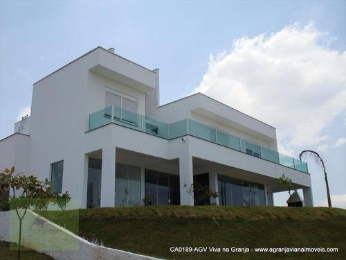 Casa Com 3 Dormitórios À Venda, 450 M² Por R$ 2.090.000,00 - Granja Viana - Cotia/sp - Ca0189