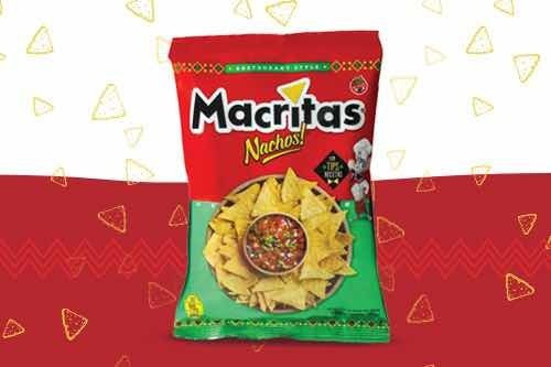 Snack Macritas Restaurante Style 90gr (caja 12 Unidades)