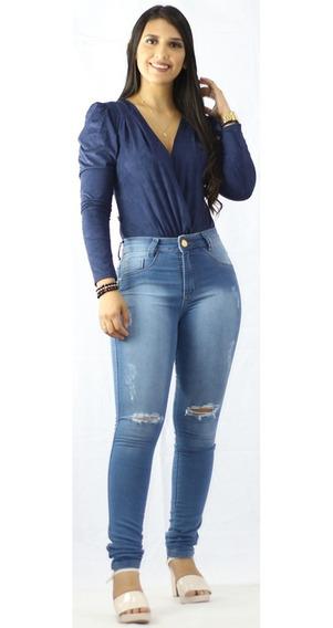 Kit 20 Calças Jeans Femininas Lycra 3% Atacado