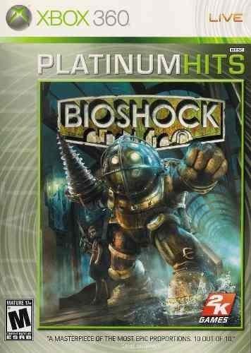 Jogo Novo Lacrado Bioshock Platinum Hits Para Xbox 360 Ntsc