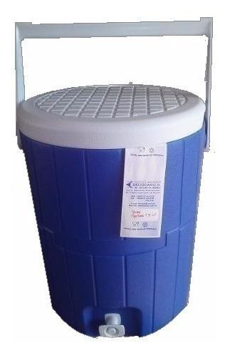 Termo Plastico De 8 Litros Decocar Potamito Azul