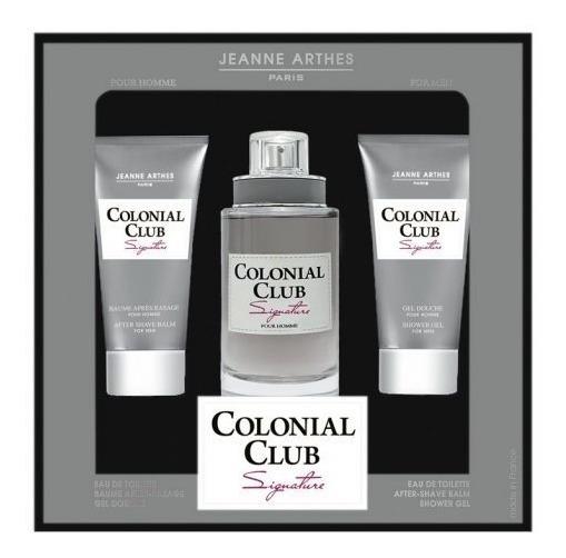 Kit Colonial Club Signature Jeanne Arthes+ Pós Barba + Gel