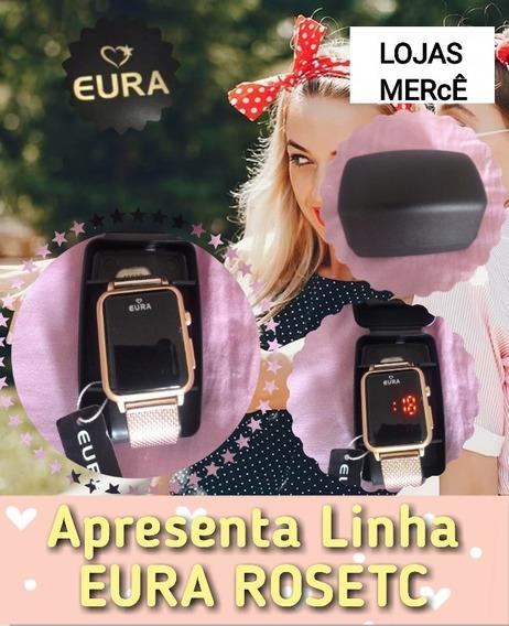 Relogio Gold Eura Touch Screen Com Frete Gratis Lojasmerce