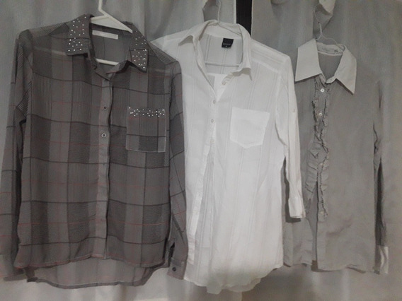 Camisas Talle M Chico Sweet/gieso
