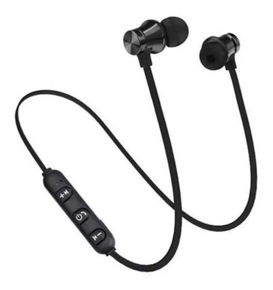 Fone De Ouvido Bluetooth S/ Fio Leitor De Cartao Memoria
