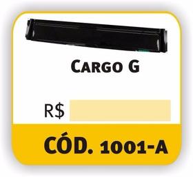Calha De Chuva Caminhao Ford Cargo Reta Ate 2011 (par)
