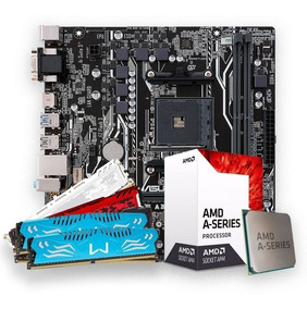 Kit Gamer A10-9700 +am4 A320m-hd Ddr4 + 4gb Mem Ddr4 C/nfe