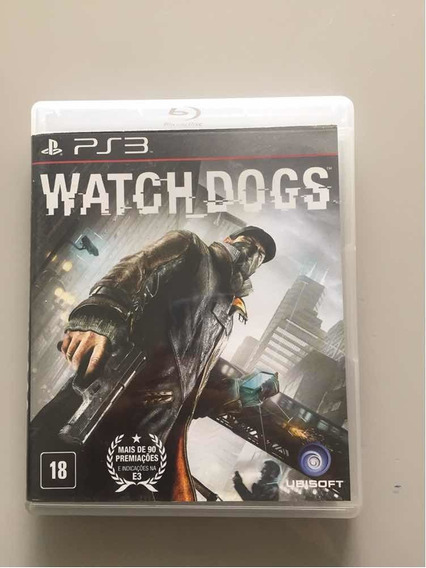 Watch Dogs Ps3 ( Mídia Física )