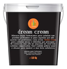 Lola Cosmetics Dream Cream - Máscara Capilar 3kg