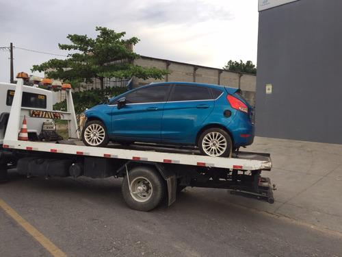 Sucata Ford New Fiesta Titanium 1.6 2014 Somente Em Peças
