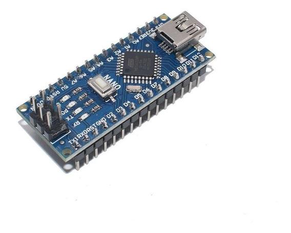 Arduino Nano 3.0 Atmega328 328 Ch340 Sem Cabo 4 Unidades