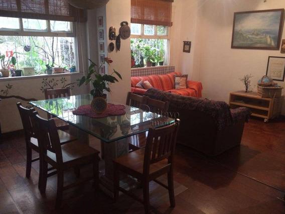 Apartamento Com 4 Dormitórios À Venda, 123 M² Por R$ 740.000,00 - Laranjeiras - Rio De Janeiro/rj - Ap7564