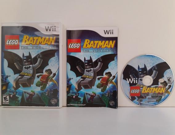 Batman Lego Nintendo Wii Original Completo.