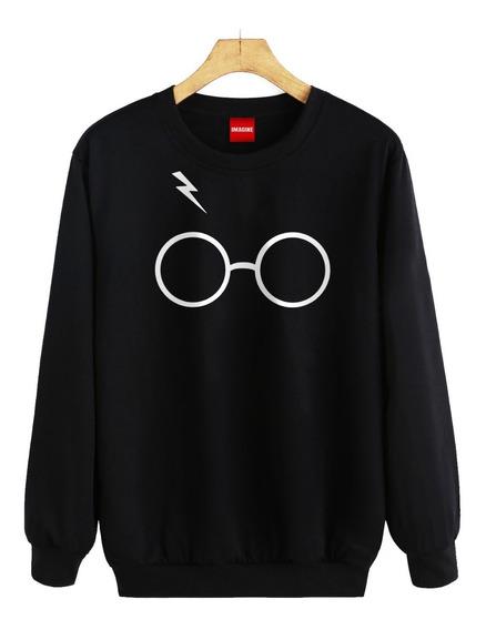 Sudadera Hombre Dama Colores Harry Potter Lentes Sueter #335