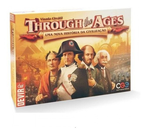 Jogo Through The Ages - Devir - Bonellihq B21